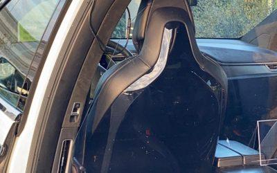 Corona COVID-19 bestendige elektrische GRE-GO Tesla taxi's